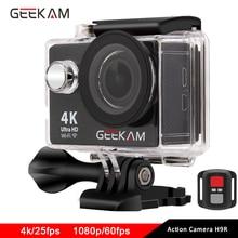 GEEKAM action kamera H9/H9r Original ultra deportiva camaras gehen wasserdichte HD 4 Karat WiFi 1080 P 60fps pro outdoor 170D sport kamera