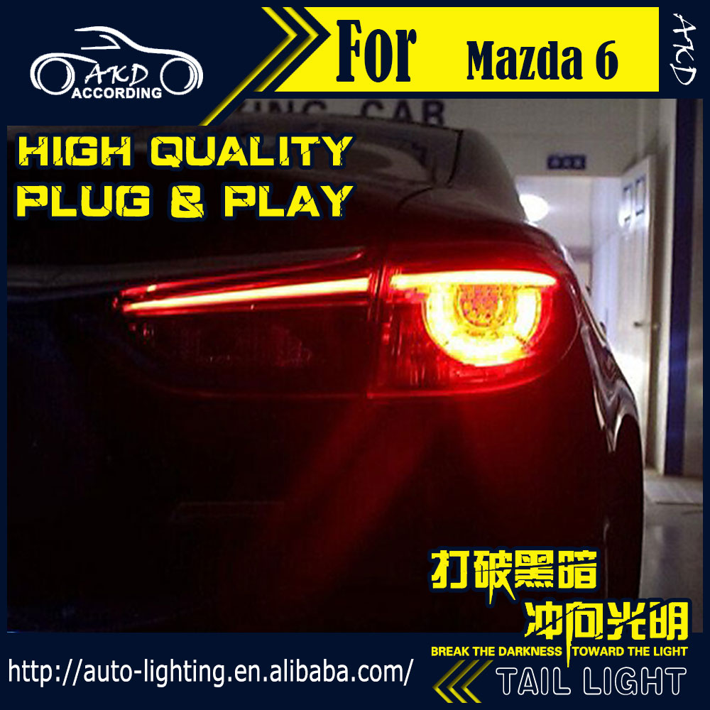 car styling tail lamp for mazda 6 atenza led tail light 2014 2016 new mazda6 led rear lamp led. Black Bedroom Furniture Sets. Home Design Ideas