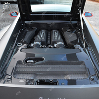 For Lamborghini Gallardo LP570 2011 Carbon Fiber Engine Cover Kit Body Kits Tuning Trim Accessories For Gallardo LP570