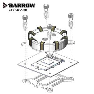 Image 5 - Barrow CPU Water Blok gebruik voor INTEL LGA1150 1151 1155 1156/X99 2011/AMD AM3 AM4/Radiator 5V GND om 3PIN Hearder Moederbord