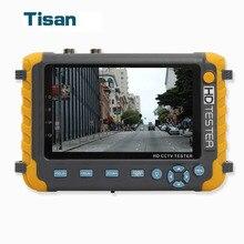 5 дюймов TFT ЖК-дисплей 5mp 1080 P TVI AHD CVI аналоговый CVBS безопасности Камера CCTV Тесты er монитор Поддержка VGA вход HDMI кабелей utp Тесты