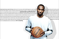 Custom Canvas Art Kobe Bryant Wall Stickers Kobe Bryant Poster La Lakers NBA Wallpaper Basketball Sticker