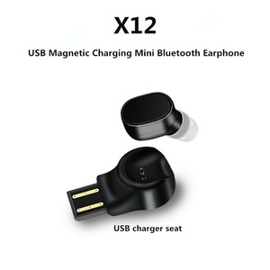 Image 5 - Kebidu x12 블루투스 헤드셋 미니 무선 이어폰 휴대용 usb 자기 충전 헤드셋 스포츠 이어폰 헤드셋 아이폰 8x7