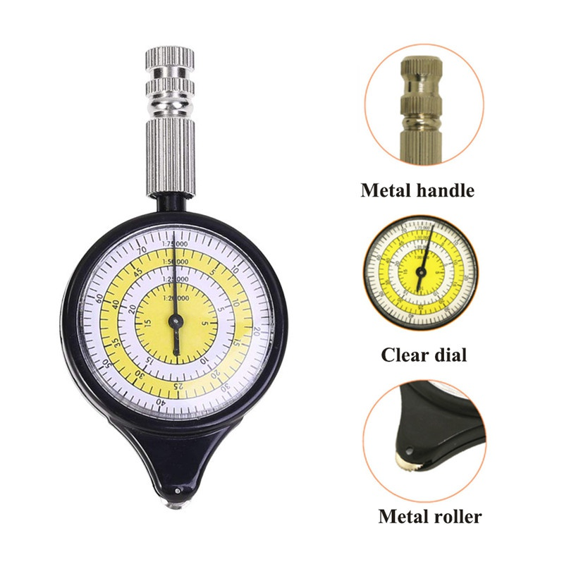 Outdoor Dropshipping Rangefinder Odometer Multifunction Compass Curvimeter Outdoor Climbing