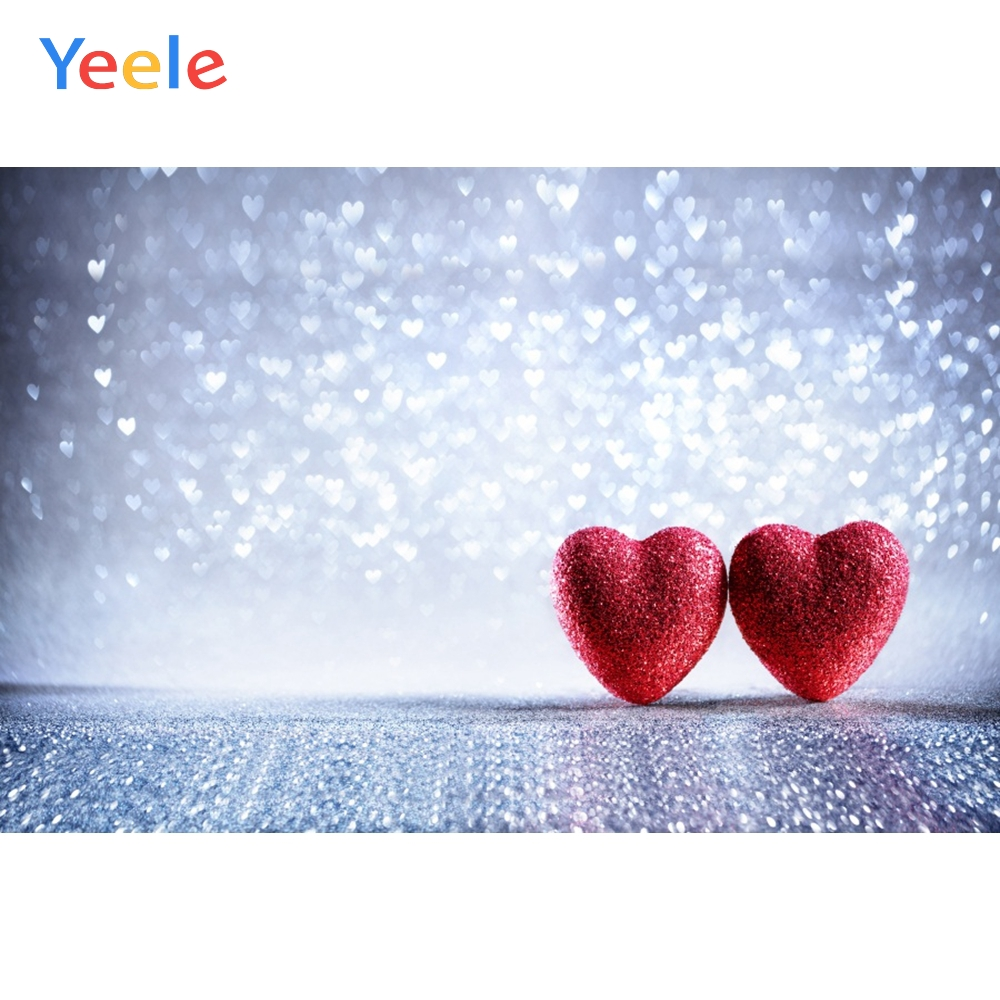 Yeele Wedding Party Decor Love Heart Customized Photography Backdrops Personalized Photographic Backgrounds For Photo Studio