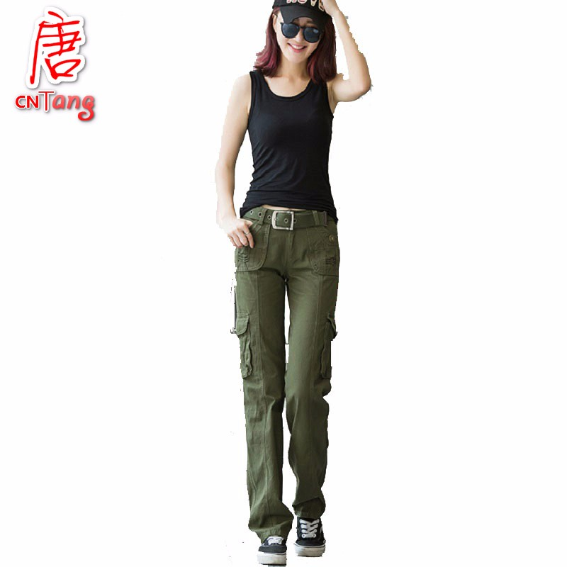 New  Pants New Arrivals Women Khaki And Black Casual Pants Fashion Skinny