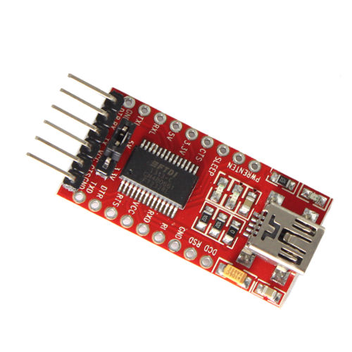 FT232RL FT232 FTDI USB 3.3V 5.5V To TTL Serial Adapter Module Mini Port