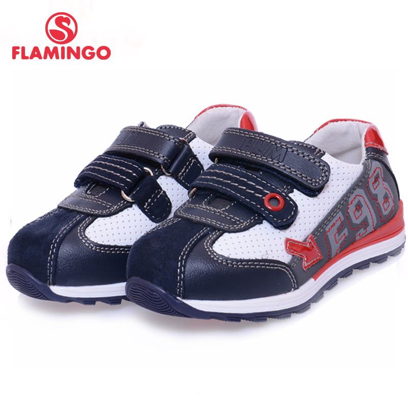 FLAMINGO 100% Russian Famous Brand 2016 New Arrival Spring & Autumn Kids Fashion High Quality shoes XP5819