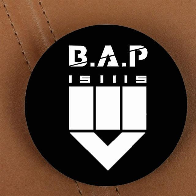 Youpop Kpop Bap Bap Matrix Showcase Album Brooch K Pop Pin Badge
