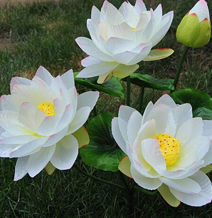 Online buy wholesale lotus flower for wedding centerpieces