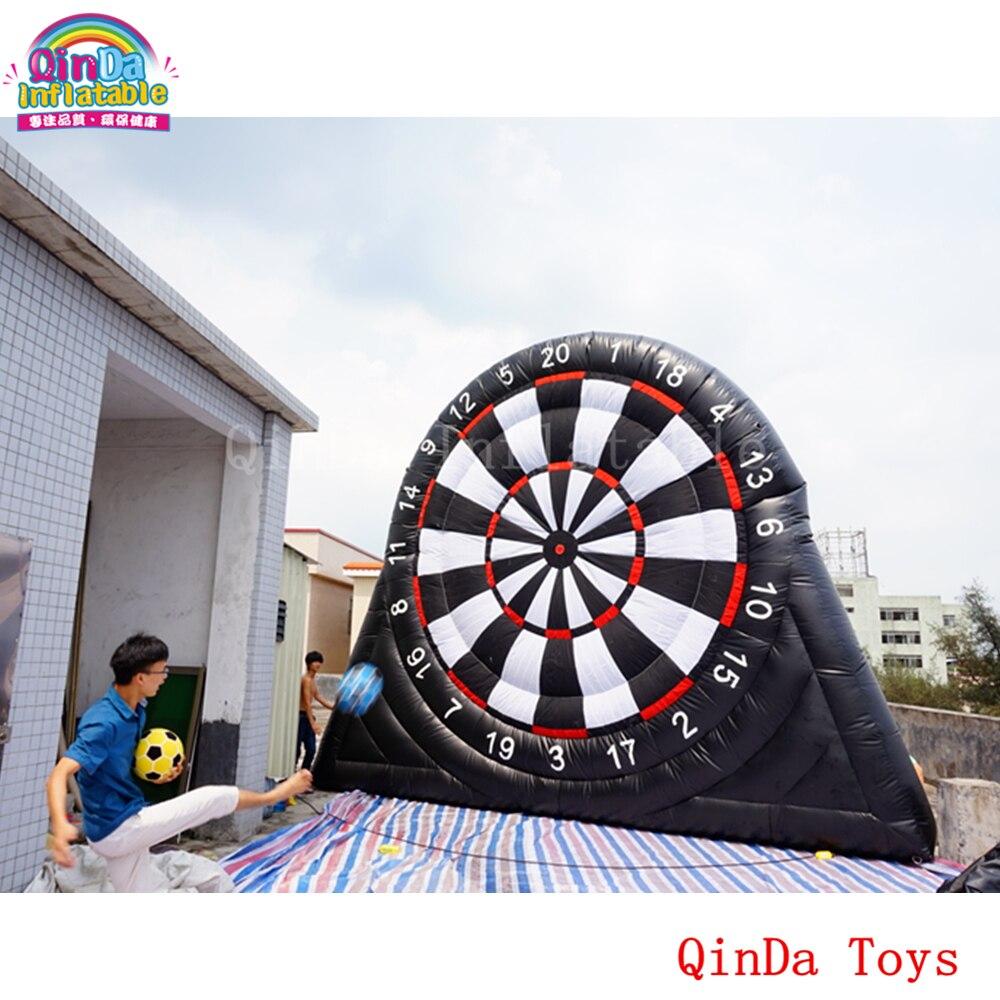 Спортивные праздничные игрушки 5 м высота надувной футбол Дарт доска с дартс аксессуары