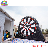 Sport event toys 5m height inflatable soccer dart board with darts accessories