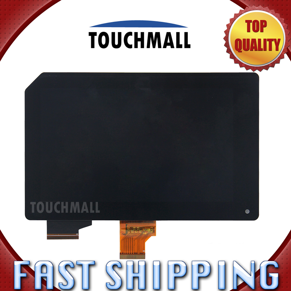 For New LCD Display Touch Screen Assembly Replacement Acer Iconia Tab B1 A71 B1-A71 7-inch Black Free Shipping replacement original touch screen lcd display assembly framefor huawei ascend p7 freeshipping