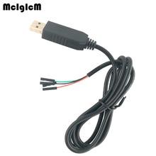 MCIGICM 50 adet yeni 1m USB RS232 TTL UART PL2303HX otomatik dönüştürücü USB COM kablosu adaptör modülü sıcak satış