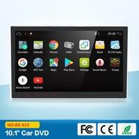 2 Гб Оперативная память 4 ядра 10,1 Android 7,1 универсальный DVD автомобильное радио Bluetooth MP4 WI FI RDS USB 1024*600 Intel автомобиля gps навигации Системы