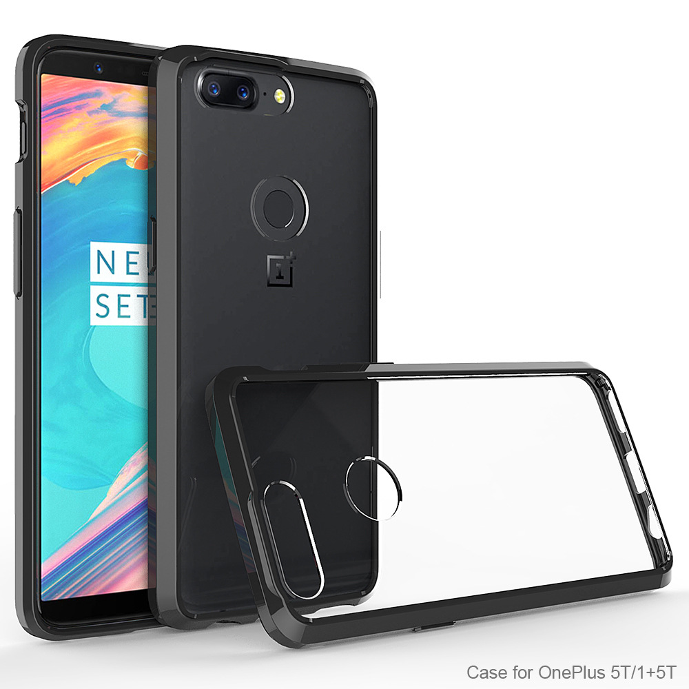 Oneplus-5T Case Cover Transparent Tough Case for Oneplus 5 T Shockproof Bumper Silicone Case for Oneplus 5T 1+5T