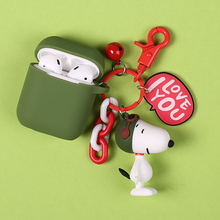 Cute Cartoon Dog Silicone Case for Apple Airpods Bluetooth Wireless Earphone Accessories Headset Protective Cover Bag
