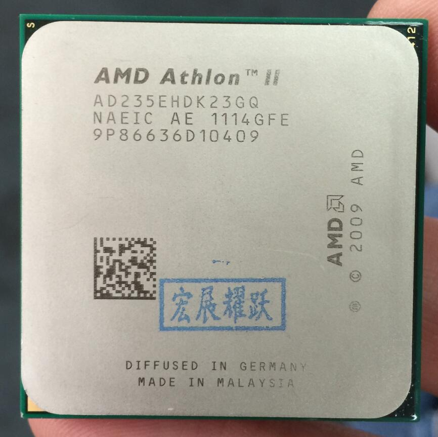 AMD Athlon II X2 235E  X235E Dual-Core Desktop CPU AM3 938 CPU 100% Working Properly Desktop Processor