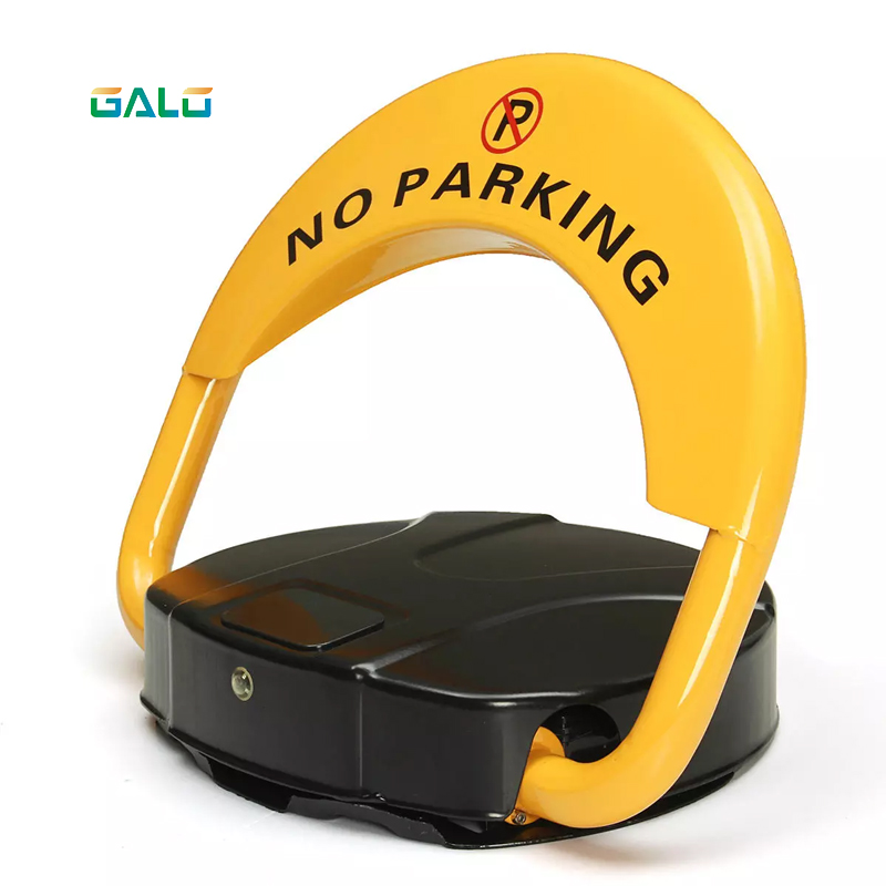 Auto Remote Controlled Operation Protecting Private Parking Space Parking Lock With Rechargeable Battery