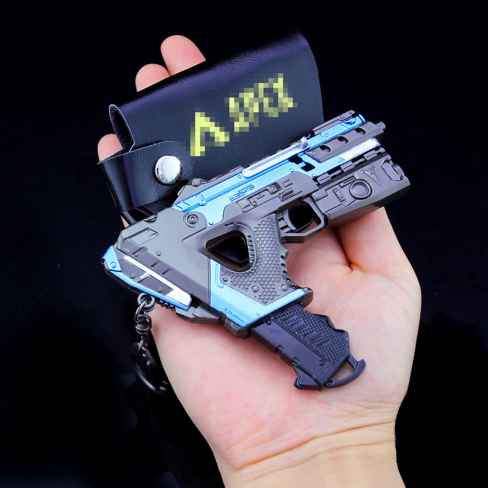 APEX Legends Gun Models Boy Toys Battle Royale Game Metal Weapons Keychain