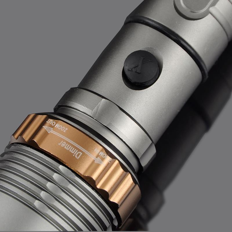 Lanternas e Lanternas modos de led lanterna tática Lúmen : 2000
