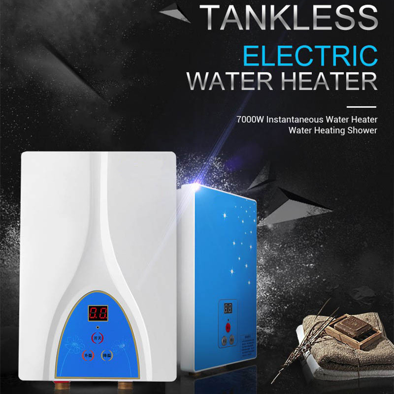 Free Shipping Electric Tankless Water Heater 6000W Instantaneous Water  Heater Instant Electric Water Heating Shower
