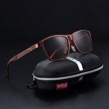 b810667474 BARCUR marca Unisex Retro de aluminio + TR90 gafas de sol polarizadas lente  gafas Vintage accesorios gafas de sol para hombres/r.
