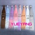 1 шт. 35 см * 100 СМ Куклы Аксессуары два цвета градиенты парик/волос для 1/3 1/4 SD/BJD diy