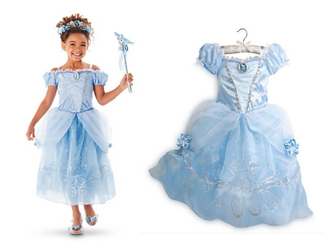 Платье золушки для детей