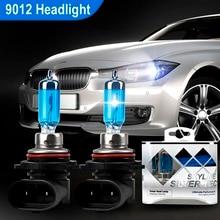 2pcs 12V 100W 9012 HIR2 4300K Super Bright Halogen Light White Halogen Headlight Bulb Auto Lamp Fog Lights Universal Car Styling цена в Москве и Питере