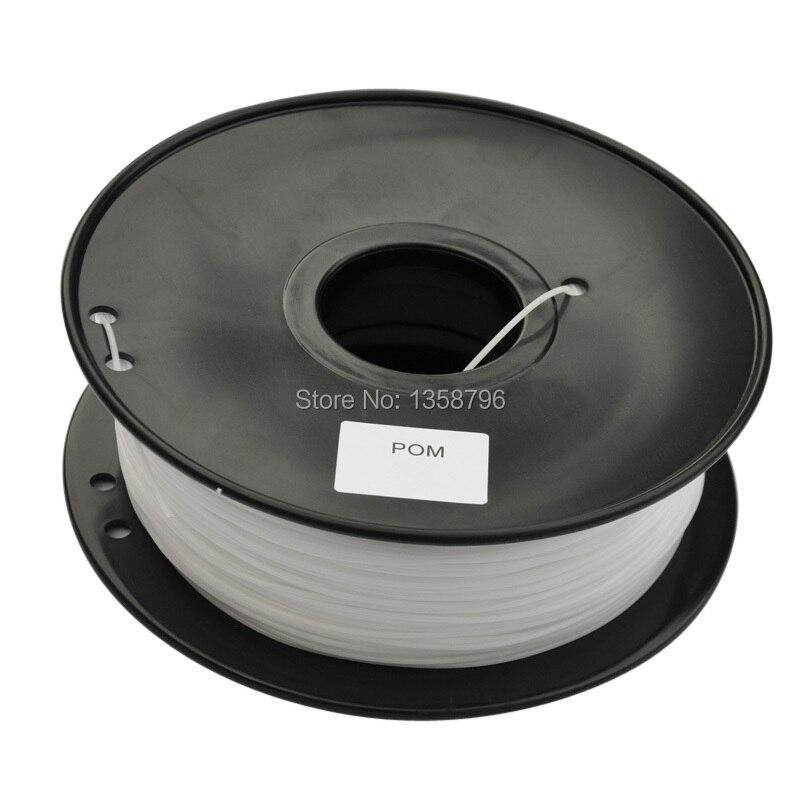 3d Printing Materials pom 3d printer filament 1.75mm/3mm G.w. : 1.35 kg