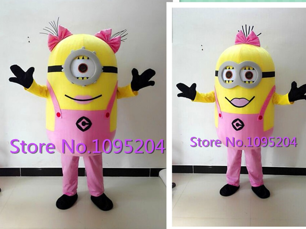 high quality 13 style Despicable me minion mascot costume for adults despicable me mascot costume EPE material fast shipping-in Anime Costumes from Novelty ... & high quality 13 style Despicable me minion mascot costume for adults ...