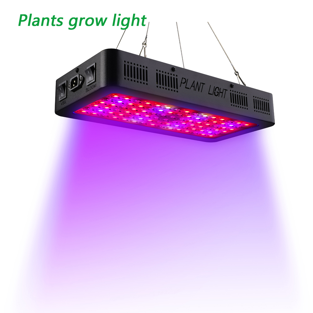 hollki double switch led grow light double chips ts 900w full spectrum for indoor greenhouse. Black Bedroom Furniture Sets. Home Design Ideas
