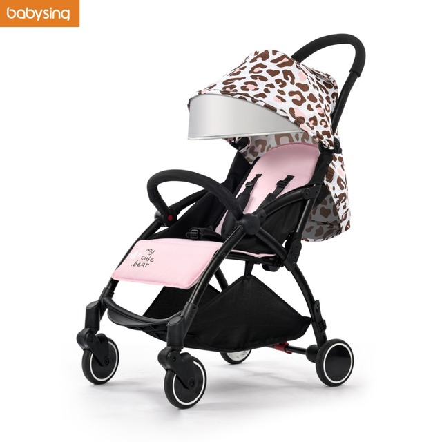 3723fffabb2e0 Babysing Lightweight Baby Stroller Suitable for Spring Summer Foldable  Travel Umbrella Pram Easy to Put Into Airplane and Train