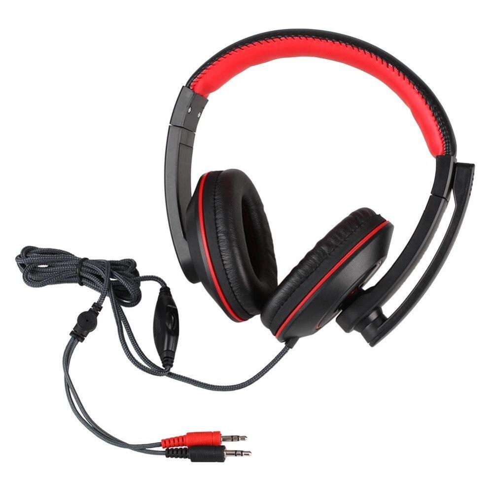 GX-K9 Headset Stereo Headphone Bass alta fidelidad audifonos cancelacion ruido w/microfono For PC Computer Gamer MP3 player alta 9