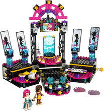 children toy CHINA BRAND 406 self-locking bricks Compatible with Lego Friends 41105 Pop Star Show Stage no original box
