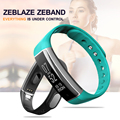 Zeblaze ZeBand Bluetooth 4.0 Smart Watch IP67 Waterproof Smart Wristband Support Heart Rate Monitor Pedometer for Android IOS