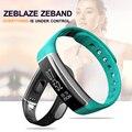 Zeblaze zeband bluetooth 4.0 suporte smart watch ip67 à prova d' água pulseira inteligente pedômetro monitor de freqüência cardíaca para android ios