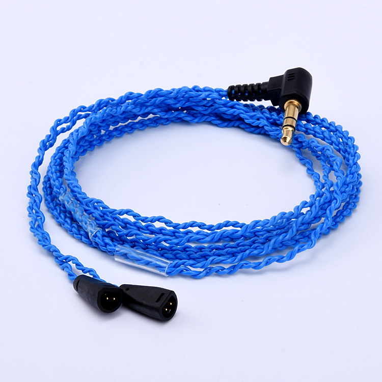 New MMCX Updated HIFI Cable 5N 8 Core Detachable Copper Plated Cord for Sennheiser IE8 IE80 IE8i Headphone Earphone
