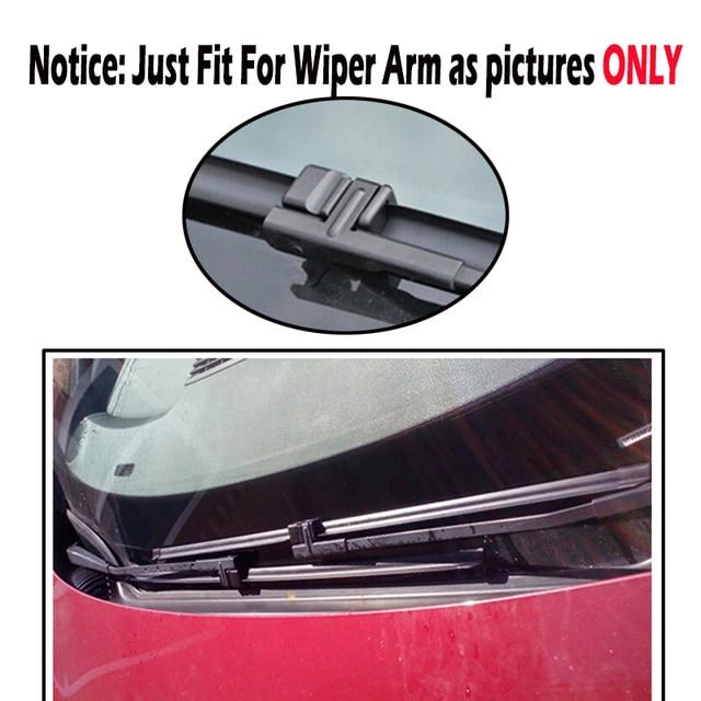 "Ericks Wiper RHD & LHD Front Wiper Blades For VW Touran 2003 2004 2005 2006 Windshield Windscreen Front Window 28""+28"""