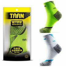 1 пара TAAN женские носки для бадминтона женские утолщенные башенные хлопковые быстросохнущие спортивные дышащие теннисные носки T-130