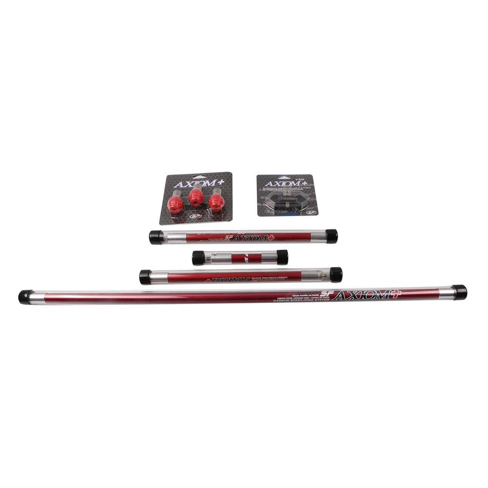Tir à l'arc couleur rouge/bleu barre stabilisatrice d'arc avec amortisseur de choc d'arc/v-bar accessoires composé/arc classique tir de chasse en plein air