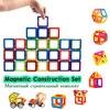 Kids Enlighten Toy No Burr 64PCS Super Magnet Multicolored Building Bricks Game For Children Magnetic Construction