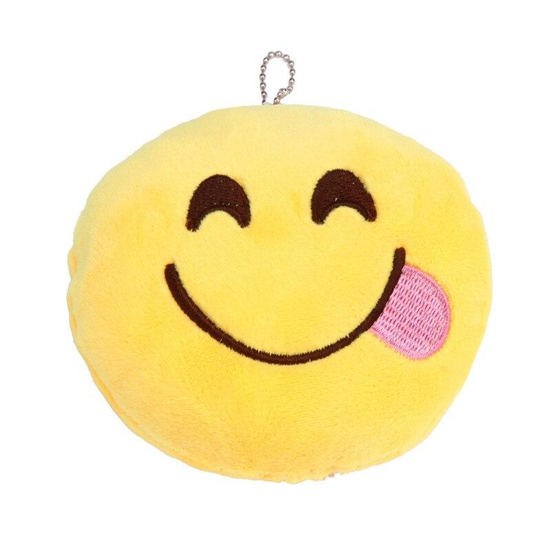 8 шт. мини 10 см emoji Подушки желтый смайлик круглый Подушки детские мягкие плюшевые игрушки куклы для отточить подарок для ребенка спальня пад...