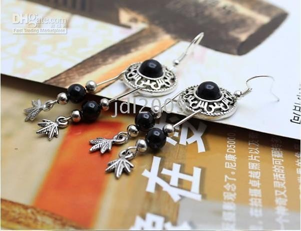 Tibetan Jewelry Earrings handicraft Ethnic Earring Disc Tibetan earrings Ethnic Tribal Jewelry