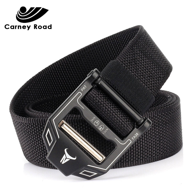 Tactical Belt Men Adjustable Heavy Duty Military Tactical Waist Belts With Metal Buckle Nylon Belt Hunting Accessories