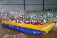 8 мест Горячая продажа Сделано в Китае водные игры с надувными предметами надувная буксируемая лодка «банан» летающая рыба
