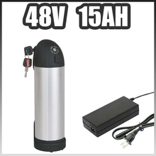 48v 15ah electric bicycle lithium ion battery 48v Kettle bottle ebike li-ion battery 48v bafang battery