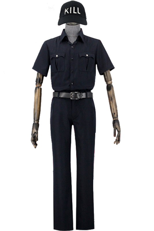 Hataraku Saibou Cosplay Costume Cells At Work T Cell Cosplay Costume Uniform Tops Pants Hat Belt