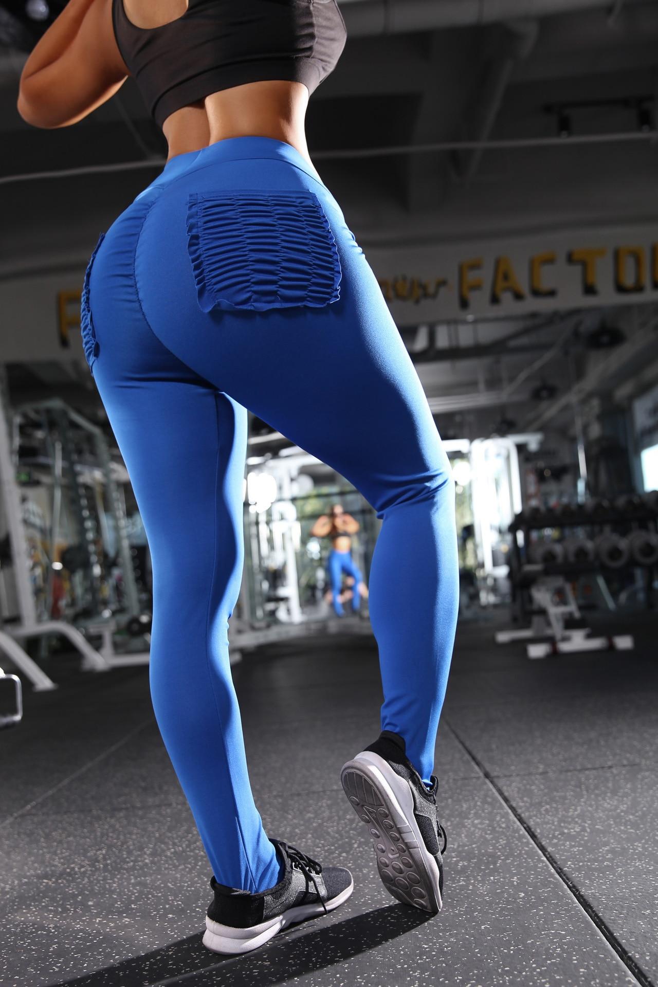 2019 Ankle Length Pants Elasticity Keep Slim Push Up Fitness Female Legging With Fashion Pockets Pantalon Taille Haute Femme Ez Leggings Aliexpress